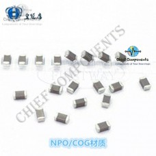 10 pieces 5 values SMD Capacitor Caps Kit Imported from Japan (0805 Package)