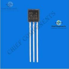 10pcs WS78L05 78L05 TO-92 5V 100mA Voltage Regulator IC (Brand New and Original)