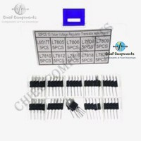 9pcs 3 Values Assorted Voltage Regulator IC's LM317t LM7805 LM7812