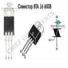 2pcs BTA16-600B TO-220 BTA16-600 TO-220 16-600B BTA16 600v 16a Triacs  Genuine And Original