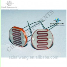 10pcs Ldr Light Dependent Resistor 50k Value