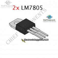 4pcs LM7805 L7805 7805 Voltage Regulator IC 5v 1.5a TO-220