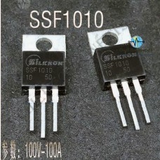2pcs SSf1010 Mosfet Np Field 100v 130A TO-220 SSf1010